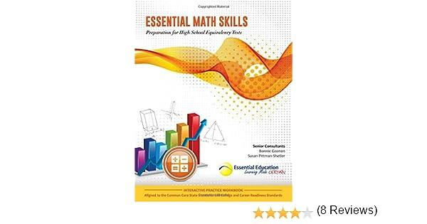 Essential Math Skills, Preparation for High School Equivalency ...