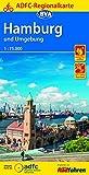ADFC-Regionalkarte Hamburg und Umgebung 1:75.000 (ADFC-Regionalkarte 1:75000)