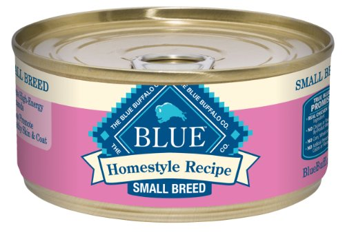 Blue Buffalo Small Breed Canned Dog Food, Chicken Dinner Recipe (Pack of 24 5.5-Ounce Cans)