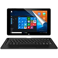 ALLDOCUBE iwork10 Pro 2-in-1 Tablet PC con tastiera, schermo IPS 1920x1200 da 10,1 pollici, Windows 10 + Android 5.1, Intel Atom X5 Z8350 Quad Core, 4 GB RAM, 64 GB ROM