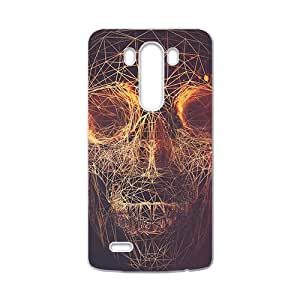 Distinctive Knit lines skull Phone Case for LG G3