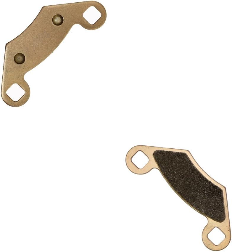 Delanteros Derecha de Almohadillas de Zapatos de Freno Semi-met/álicas fit ATV 330 Trail Boss 03 04 2003 2004 1 Pair 2 Pads