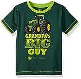 kids apparel - John Deere Toddler Boys' T-Shirt, Dark Green/Lime Green, 3T