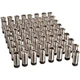 """Hardinge 5C 65 Piece Round Collet Set with Internal Stop Threads, Size Range from 1/16"""" to 1-1/16"""" Range, 1/64"""" Increment"""