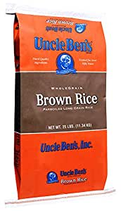 Amazon.com : Uncle Ben's Whole Grain Brown Rice, 25 Pound