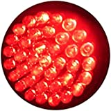 Anti-Aging Red LED Light Therapy 38 LED Bulb for Fine Lines & Wrinkles 660nm