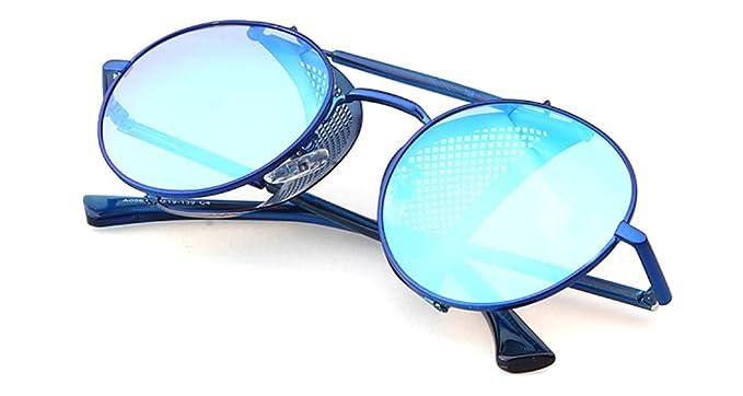 gafas de sol, con Doble Puente de metal, plegables, con ...
