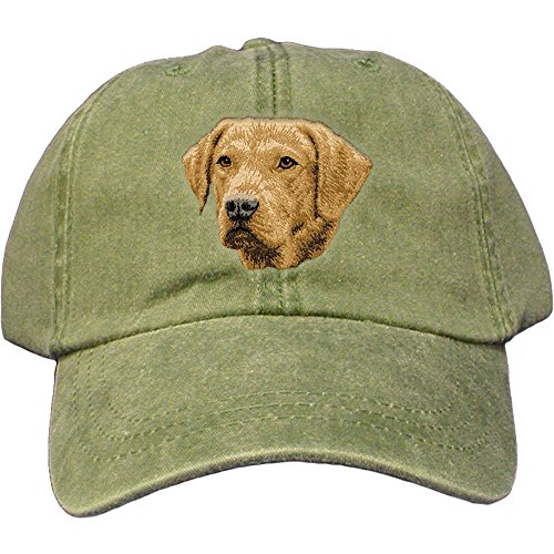 Cherrybrook Dog Breed Embroidered Adams Cotton Twill Caps - Spruce - Chesapeake Bay ()