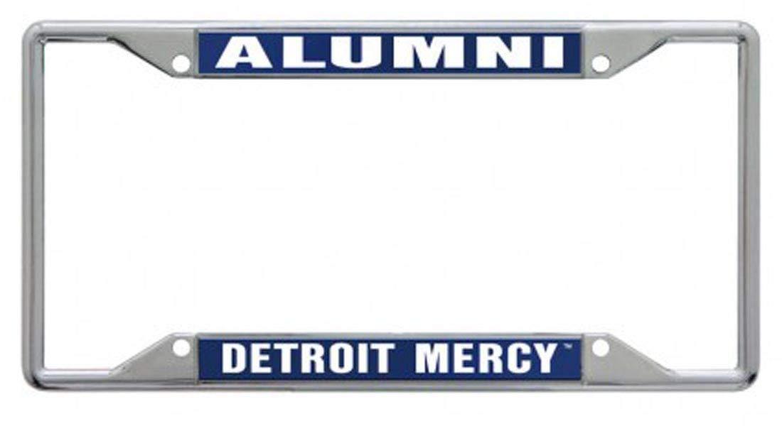WinCraft University of Detroit Mercy Alumni Premium License Plate Frame Chrome