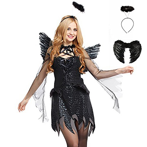 SVANCE Adult Halloween Party Funny Costumes Clothing for Womens and Sexy Girls,Small-Plus (Toga Attire)