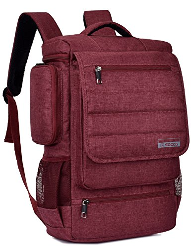Laptop Backpack,SOCKO Multifunctional Unisex Luggage & Trave