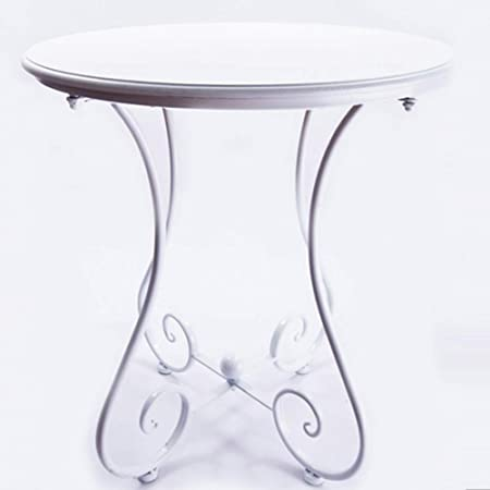 Ljha Bianzhuo Side Table Solid Wood Retro Stable Small Round