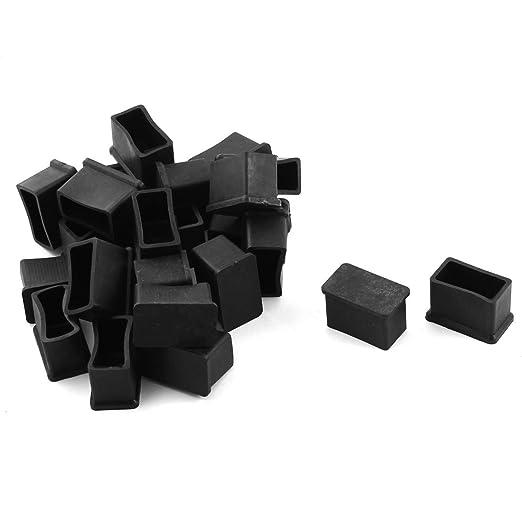 2 opinioni per Mobili Sedie Quadrato Protezioni Per Gambe Piedini In Gomma 15mmx30mm 24pz Nera