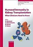 Humoral Immunity in Kidney Transplantation, , 380558945X