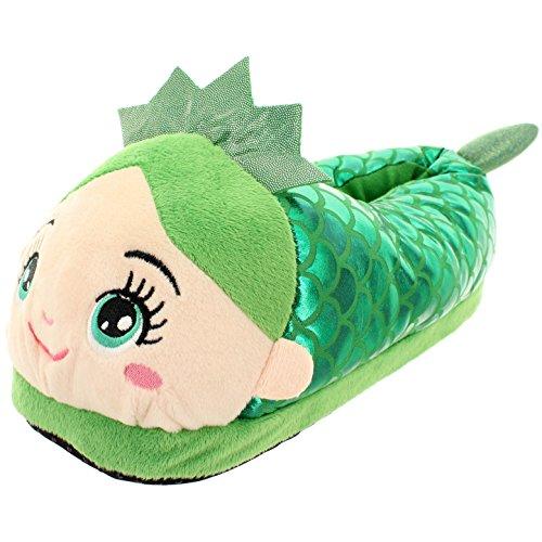 Mujer Para Por Mik Casa Funshopping Estar Verde De Zapatillas Sintético 81qwA
