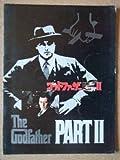 映画パンフレット ゴッドファーザーPART II(1974作品) 発行所:東宝株式会社事業部(ワイド版)1975年発行 監督: フランシス・フォード・コッポラ  出演: アル・パチーノ