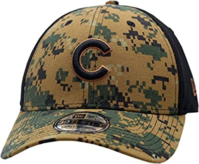 Chicago Cubs Hat Flex Fit Memorial Day 2016 Camouflage 11728