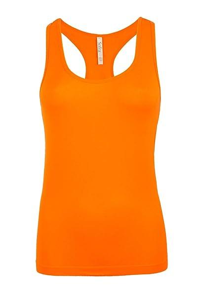 Amazon.com: Activewear - Camiseta sin mangas para mujer ...