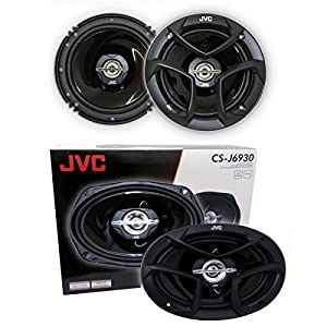 "2 JVC CS-J620 6.5"" 300W 2-Way + 2 JVC CS-J6930 6X9 400W 3-Way"
