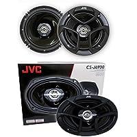 2) JVC CS-J620 6.5 300W 2-Way + 2) JVC CS-J6930 6X9 400W 3-Way