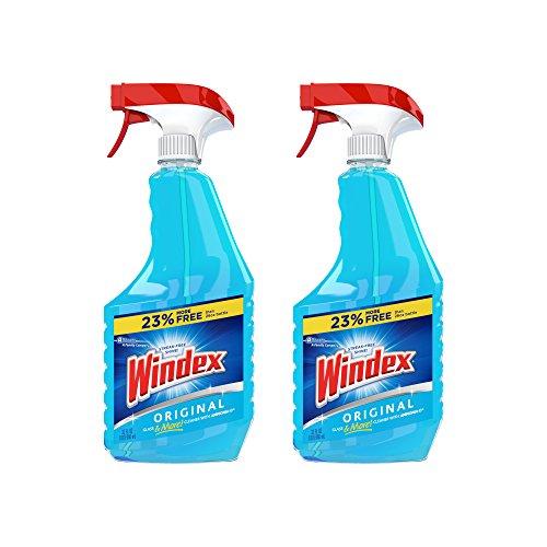 Windex Original Glass Cleaner Spray, 32 oz-2 Pack
