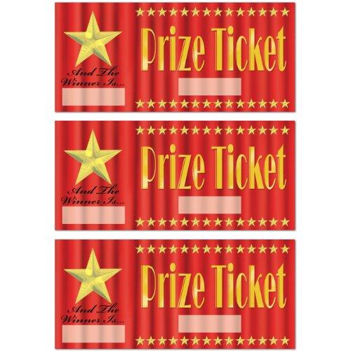 Prize Tickets   (30/Pkg)