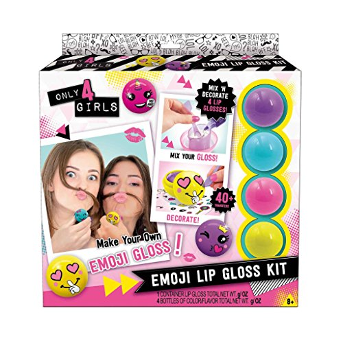 CANAL TOYS Only 4 Girls Emoji Gloss Kit
