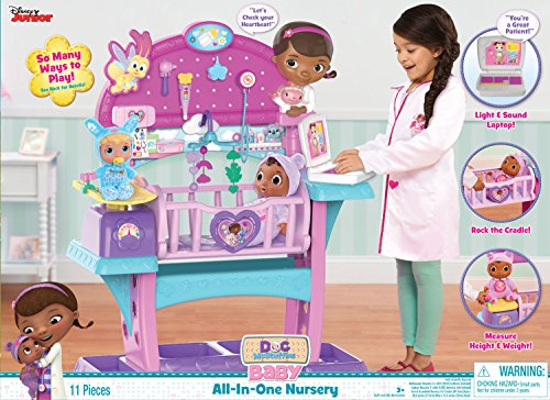 Disney Doc Mcstuffins Baby All in One Nursery Set