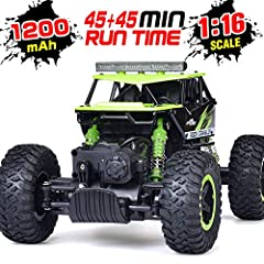 The best present for kids 2019 the latest version RC car This RC car equipped with a high capacity rechargeable 6V 800 mah battery pack which can last up to 30 minutes on a non-stop driving when fully charged. All you need to get started are ...