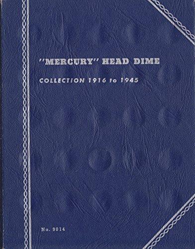 Whitman Mercury Dime Folder (1916-1945) - Dime Coin Album