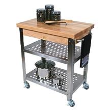 John Boos Co. Cucina Rosato Kitchen Cart #Cucr3020