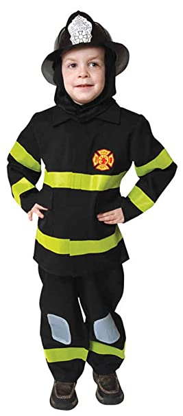 Amazon.com: UHC Little Boy del Uniforme de bombero Fire ...