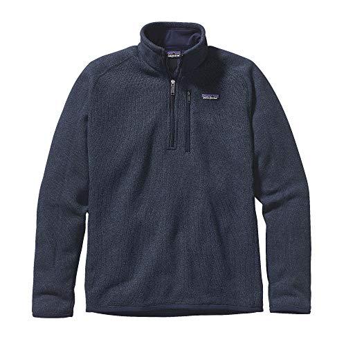 Patagonia  Women's  Sweater with 1/4 Zip Fleece - Medium - Birch White -