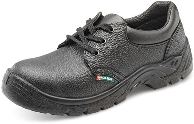 Click Safety Work Shoes Leather Steel