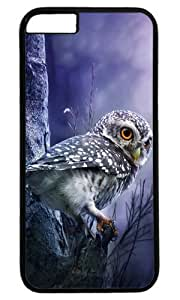 Cute owl animal Easter Thanksgiving Masterpiece Limited Design PC Black Case for iphone 6 by Cases & Mousepads