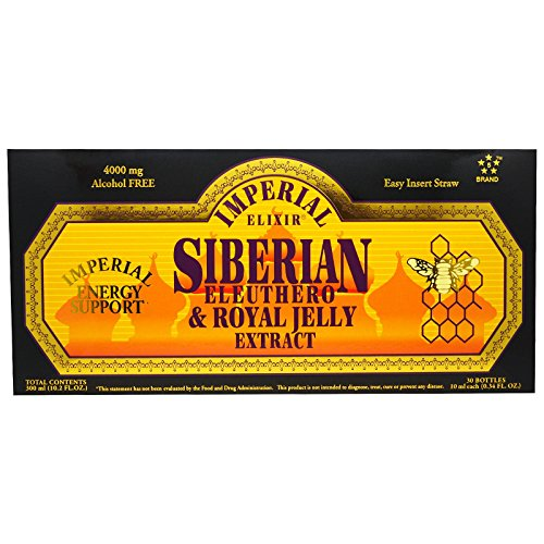 (Imperial Elixir Siberian Eleuthero and Royal Jelly Extract, 30-Count)