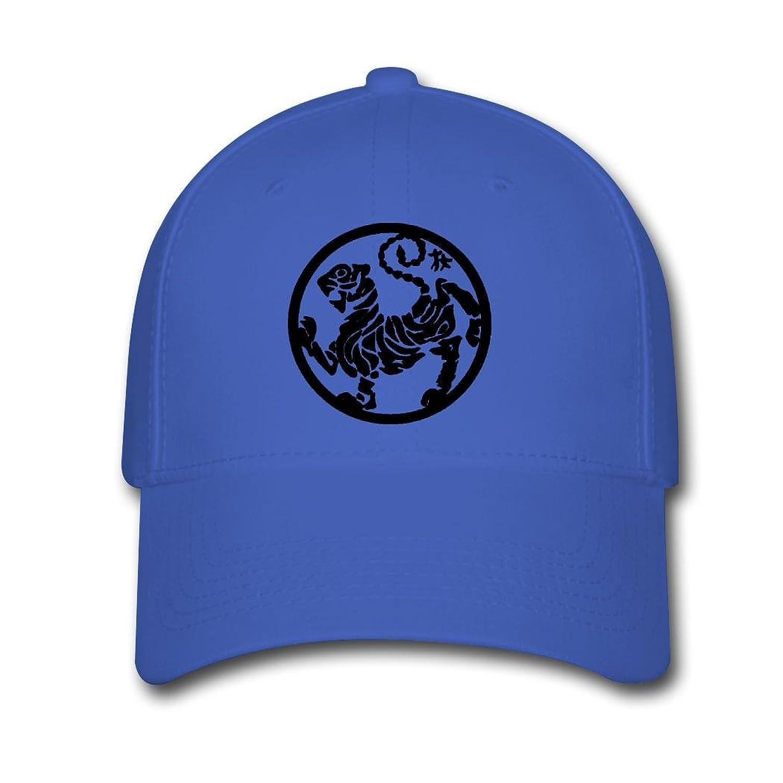 Woman Men Cotton 2016 Shotokan Tiger Round Adjustable hats Baseball caps