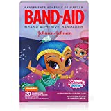 Band-Aid Brand Nickelodeon Shimmer and Shine Bandages, 20 Assorted Sizes Per Box (3 Pack)