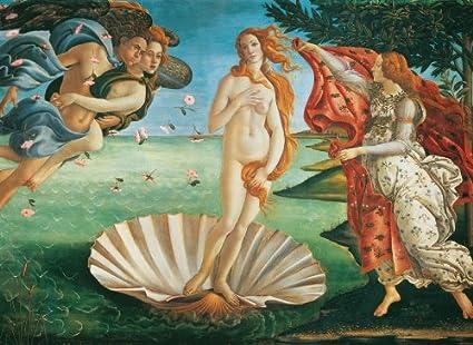 Clementoni - Puzzle de 4000 Piezas con diseño Boticelli: Nacimiento de Venus (34513.7): Amazon.es: Juguetes y juegos