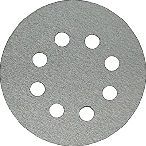 Makita 742137-A 5-Inch 40-Grit Hook and Loop Abrasive Disc, 5-Pack