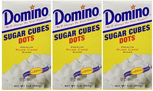 Cubes Sugar (Domino Sugar Cubes - 1 lb (Pack of 3))