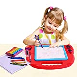 Magnetic Drawing Board Sketch Pad Doodle Writing Painting Toy Craft Art For Kids Children Multi Color