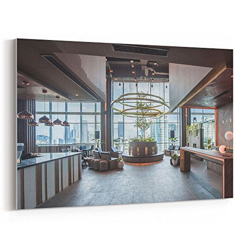 Cheap  Westlake Art Canvas Print Wall Art - Greenhouse Penthouse on Canvas Stretched..