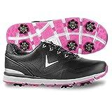 Callaway Women's Halo Golf Shoe, Black, 9.5 B B US