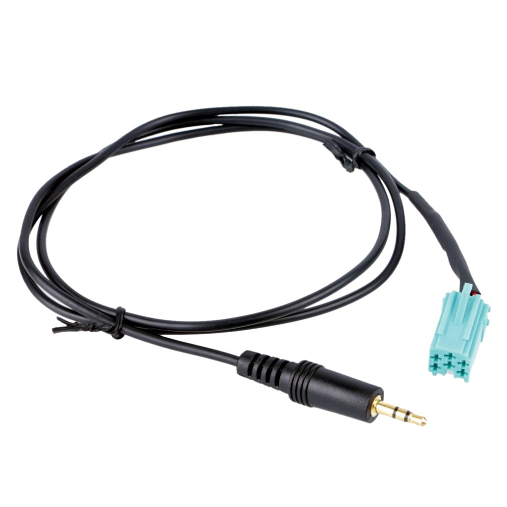 Coche Mp3 Cd Aux En El Cable Adaptador Para Renault Megane Espace Operandi Escé nica Genérico