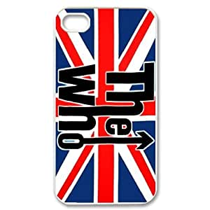 [AinsleyRomo Phone Case] For SamSung Galaxy S4 Case -The Who Music Band-Style 5