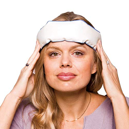 Thera-Med Headache Ice Pack Relief Band - Fabric Lined Ice Pack for Headache Relief and Migraine Relief - Works On Tension Headaches, Sinus Headaches, Minor Injuries