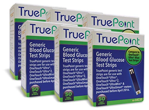 (True Point Generic Test Strips 300 Count for Use with One Touch Ultra, Ultra 2 and Ultra Mini Meter.)