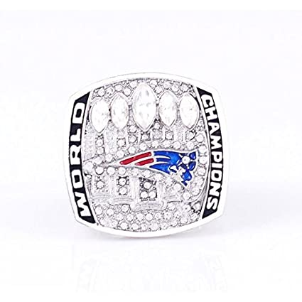 940d19396 Image Unavailable. Image not available for. Color  Custom Rings New England  Patriots Super Bowl ...