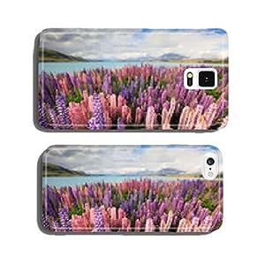 Lupine field lake tekapo cell phone cover case Samsung S6